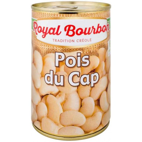 Royal Bourbon water-packed Cape beans 1/2