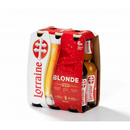 Bière Lorraine pack