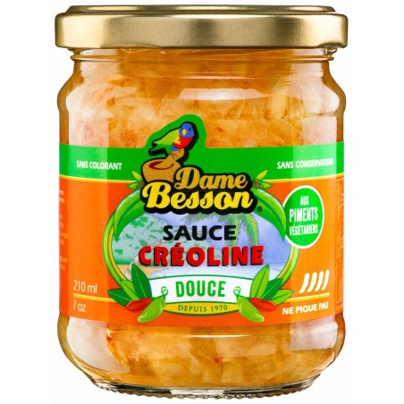 Sauce créoline douce D.Besson 210ml
