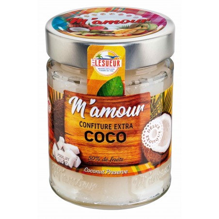 M'Amour coconut jam