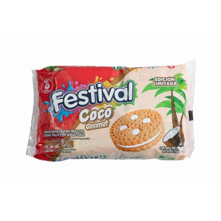 Biscuits coco Festival