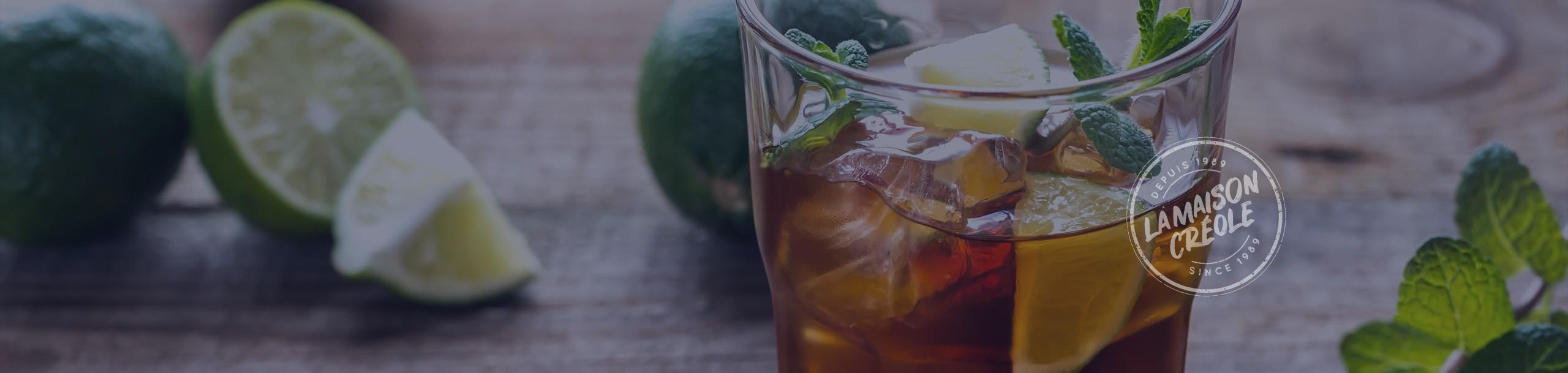 'Arrangés' (rum infusions) from Réunion Island